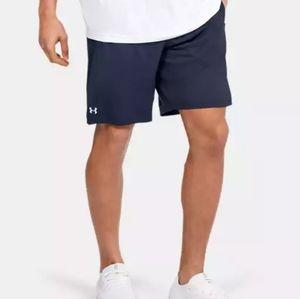 under armour navy shorts size large